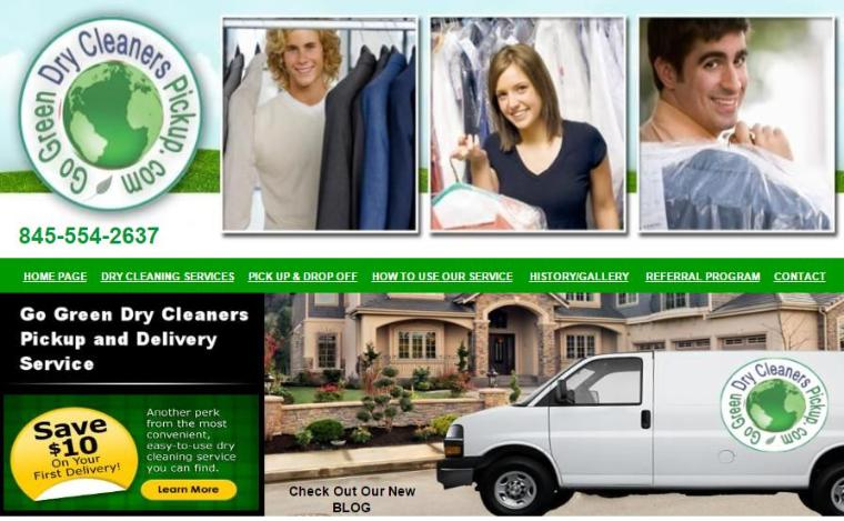 Go Green Dry Clean - Pick Up & Delivery Service